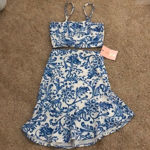 BRAND NEW Missguided Matching Set Skirt + Crop top